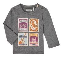 衣服 男孩 长袖T恤 Ikks XR10081 灰色