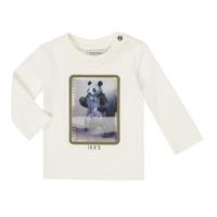 衣服 男孩 长袖T恤 Ikks XR10101 白色