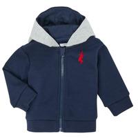 衣服 男孩 羊毛开衫 Ikks XR17001 蓝色