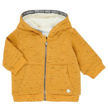 衣服 男孩 羊毛开衫 Ikks XR17031 黄色