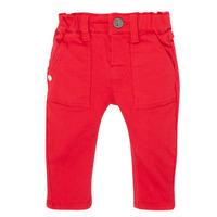 衣服 男孩 紧身牛仔裤 Ikks XR29061 红色