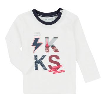 衣服 男孩 女士套装 Ikks XR36001 白色
