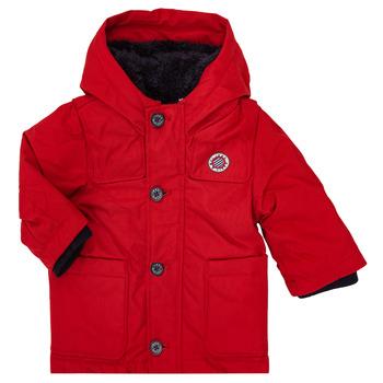 衣服 男孩 棉衣 Ikks XR42001 红色