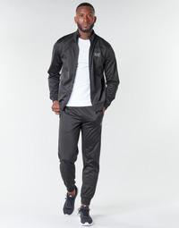 衣服 男士 厚套装 EA7 EMPORIO ARMANI TRAIN CORE ID M T-SUIT TT FZ CH PL 黑色