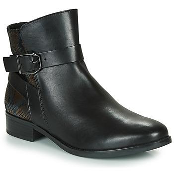 鞋子 女士 短筒靴 Caprice 25331-045 黑色