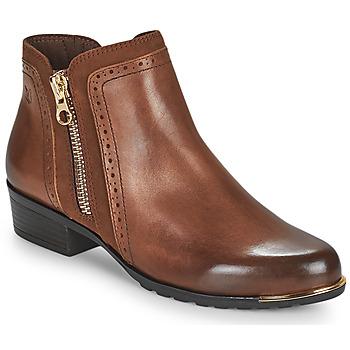 鞋子 女士 短筒靴 Caprice 25403-313 棕色