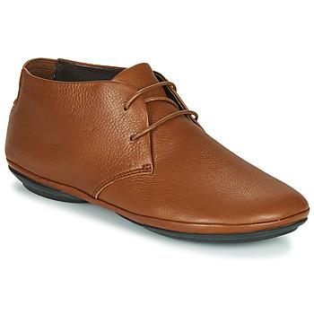 鞋子 女士 德比 Camper 看步 RIGHT NINA 驼色