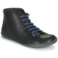 鞋子 男士 短筒靴 Camper 看步 PEU CAMI 黑色