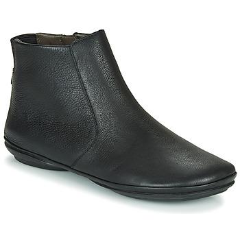 鞋子 女士 短筒靴 Camper 看步 RIGHT NINA 黑色
