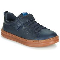 鞋子 儿童 球鞋基本款 Camper 看步 RUNNER 4 海蓝色