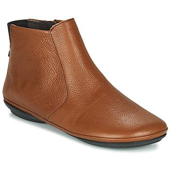 鞋子 女士 短筒靴 Camper 看步 RIGHT NINA 棕色