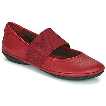 鞋子 女士 平底鞋 Camper 看步 RIGHT NINA 红色
