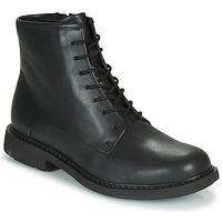 鞋子 女士 短筒靴 Camper 看步 MILX 黑色