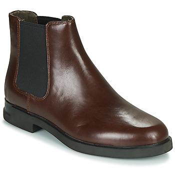 鞋子 女士 短筒靴 Camper 看步 IMN0 棕色
