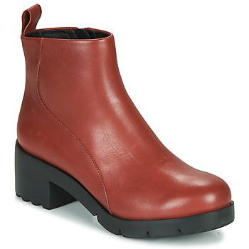 鞋子 女士 短靴 Camper 看步 WND0 波尔多红