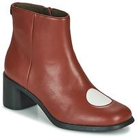 鞋子 女士 短靴 Camper 看步 TWINS 波尔多红