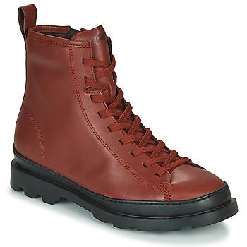 鞋子 女士 短筒靴 Camper 看步 BRUTUS 棕色