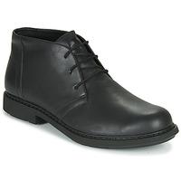 鞋子 男士 短筒靴 Camper 看步 MILX 黑色