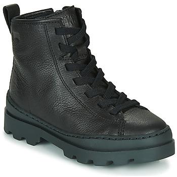 鞋子 儿童 短筒靴 Camper 看步 BRUTUS 黑色