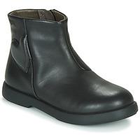 鞋子 女孩 短筒靴 Camper 看步 DTT1 黑色