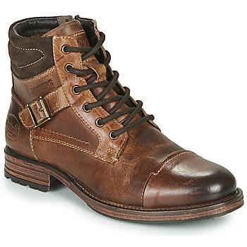鞋子 男士 短筒靴 Dockers by Gerli 43DY008 棕色