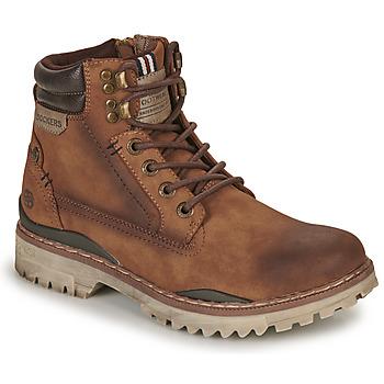 鞋子 男士 短筒靴 Dockers by Gerli 47LY001 棕色