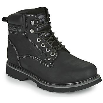 鞋子 男士 短筒靴 Dockers by Gerli 23DA004 黑色