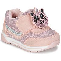 鞋子 女孩 球鞋基本款 Chicco GAMMA 玫瑰色