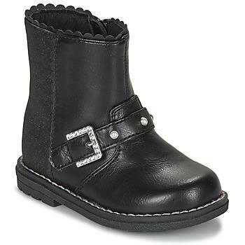 鞋子 女孩 都市靴 Chicco CANCAN 黑色