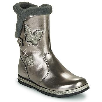 鞋子 女孩 都市靴 Chicco CAMPANELLA 银灰色