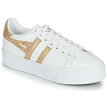 鞋子 女士 球鞋基本款 Gola ORCHID PLATEFORM 白色 / 金色