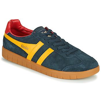 鞋子 男士 球鞋基本款 Gola HURRICANE 海蓝色 / 黄色