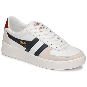 鞋子 男士 球鞋基本款 Gola GRANDSLAM CLASSIC 白色 / 海蓝色
