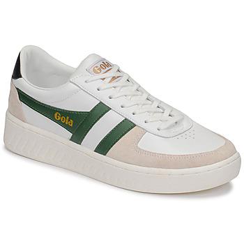 鞋子 男士 球鞋基本款 Gola GRANDSLAM CLASSIC 白色 / 绿色