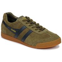 鞋子 男士 球鞋基本款 Gola HARRIER 卡其色 / 海蓝色