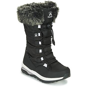 鞋子 女孩 雪地靴 KAMIK PRAIRIE 黑色