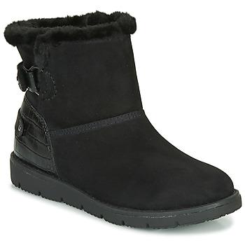 鞋子 女士 短筒靴 Tom Tailor 汤姆裁缝  黑色