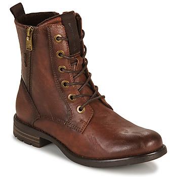 鞋子 女士 短筒靴 Tom Tailor 汤姆裁缝 93303-COGNAC 棕色