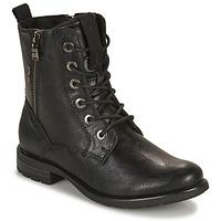 鞋子 女士 短筒靴 Tom Tailor 汤姆裁缝 93303-NOIR 黑色