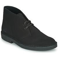 鞋子 男士 短筒靴 Clarks 其乐 DESERT BOOT 2 黑色