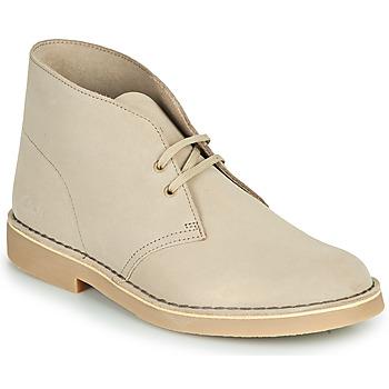 鞋子 男士 短筒靴 Clarks 其乐 DESERT BOOT 2 沙色
