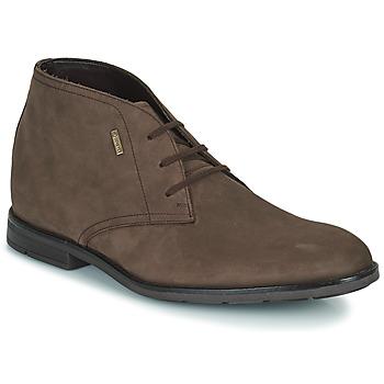 鞋子 男士 短筒靴 Clarks 其乐 RONNIE LOGTX 棕色