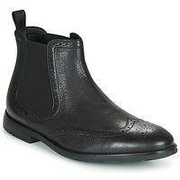 鞋子 男士 短筒靴 Clarks 其乐 RONNIE TOP 黑色