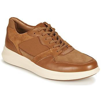 鞋子 男士 球鞋基本款 Clarks 其乐 UN GLOBE RUN 驼色