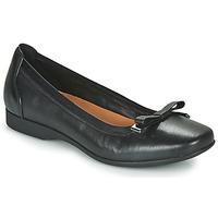 鞋子 女士 平底鞋 Clarks 其乐 UN DARCEY BOW 黑色
