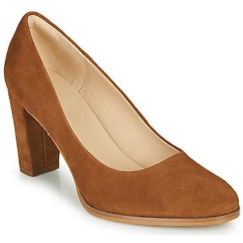 鞋子 女士 高跟鞋 Clarks 其乐 KAYLIN CARA 2 驼色
