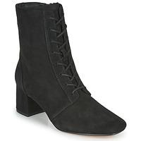 鞋子 女士 短靴 Clarks 其乐 SHEER55 LACE 黑色