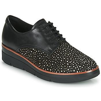鞋子 女士 德比 Clarks 其乐 SHAYLIN LACE 黑色