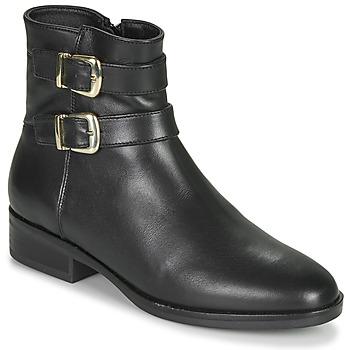 鞋子 女士 短筒靴 Clarks 其乐 PURE MID 黑色