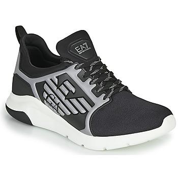 鞋子 男士 球鞋基本款 EA7 EMPORIO ARMANI XCC55 黑色